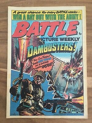 BATTLE PICTURE WEEKLY issue #11 : 17 May 1975 - classic boys' war comic