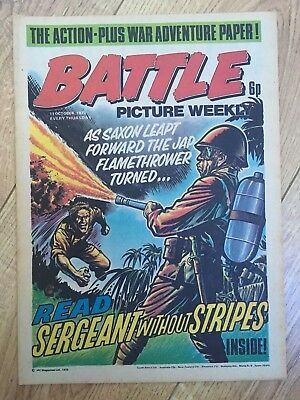BATTLE PICTURE WEEKLY issue #32 : 11 Oct 1975 - classic boys' war comic