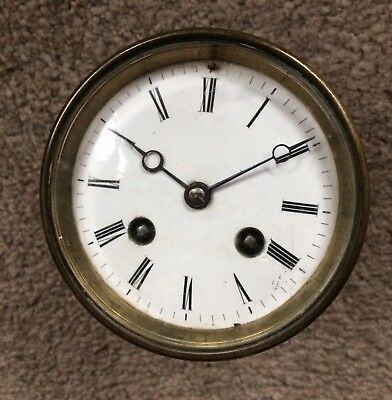 A Very Nice Four Inch French Clock Movement