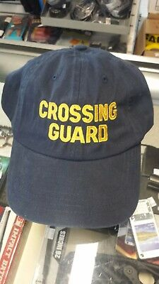 CROSSING GUARD HAT (embroidered)
