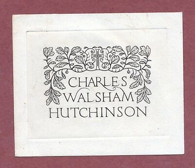 Reverend Charles Walsham Hutchinson, Oak Leaves and the Cross, refined    AH1229