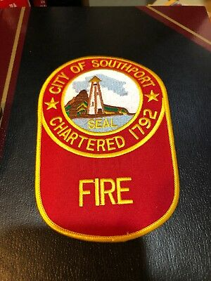 Fire Patch City Of Southport Fire Department.