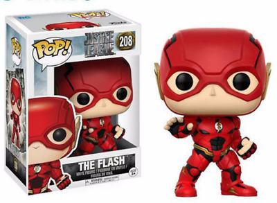 New Justice League THE FLASH FUNKO POP Action Figure Toy with Box gift movie hot