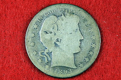 Estate Find 1893-S Barber Half Dollar!! #d2357