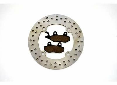 2011-2017 Can-Am Commander 1000 4x4 XT Rear Brake Rotor and Rear Brake Pad