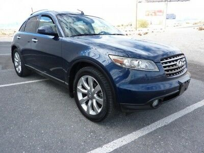 2005 Infiniti FX  2005 INFINITI FX35 BEAUTIFUL DARK BLUE / BEIGE LEATHER ALL POWER OPTIONS 158,000