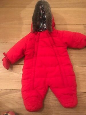 New Born All In One Snow Suit From John Lewis
