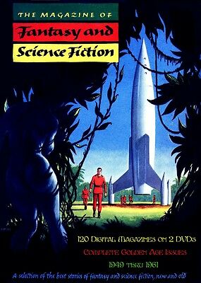 THE MAGAZINE OF FANTASY & SCIENCE FICTION - 120 Digital Issues
