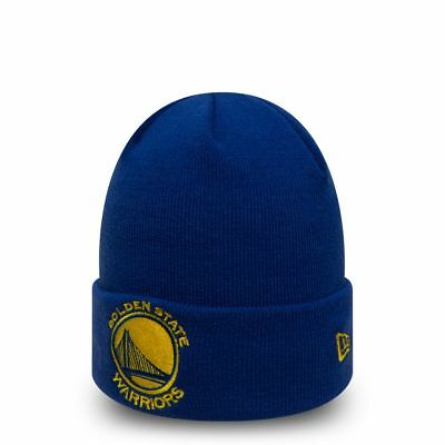 New Era NBA GOLDEN STATE WARRIORS Team Essential Cuff Beanie Knit  Wintermütze NE b6e677456e8d