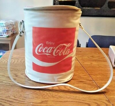 Rare Vintage Plastic Coca Cola Cooler By Nappy