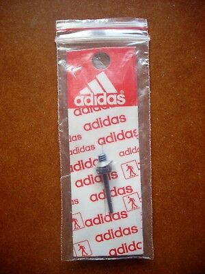 Deadstock Adidas Rare Original Football Ball Blue Needle World Cup 80 90 Vtg