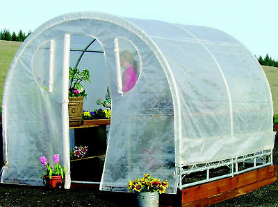 Jewett Cameron Weatherguard 6 Ft. W x 12 Ft. D Greenhouse