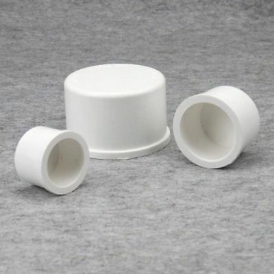 PVC Water Pipe Fitting Pipe End Cap Inner Dia 20/25/32/40/50mm Inside Depth S GB