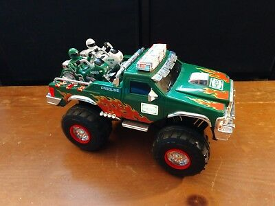 2007 Hess Monster Truck with 2 Motorcycles - Used