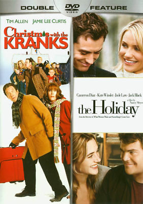 CHRISTMAS WITH THE KRANKS / THE HOLIDAY NEW (DVD DOUBLE FEATURE) Free Shipping
