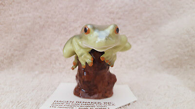 Hagen Renaker Tree Frog Figurine Miniature Collect Gift New Free Shipping 03364