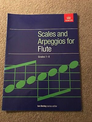 Grades 1-8 Scales and Arpeggios for Flute – Published ABRSM