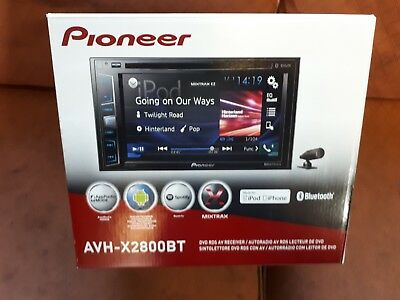 Ford Focus St Mk2 225 Rs pioneer hands free CD radio double din with fitting kit