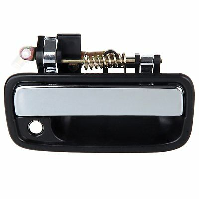 Black Outside Front Right Passenger Side Door Handle For 95-04 Toyota Tacoma