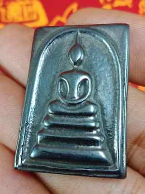 Very Rare Leklai Phra Somdej Lp Somporn Powerful Wealth Success Luck Thai Amulet