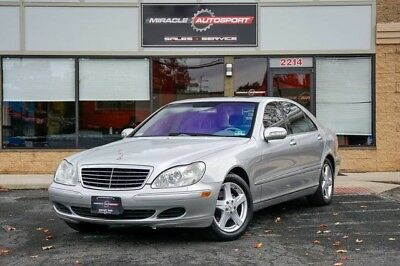 2004 Mercedes-Benz S-Class  64k low mile s500 free shipping warranty clean carfax luxury finance cheap