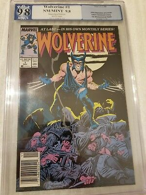 Wolverine # 1 PGX 9.8 NM/MT 1st Appearance of Patch with White Pages CGC