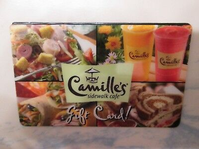 $20.00 GIFT CARD Camille's Sidewalk Cafe Dining Restaurant Certificate Eat Out