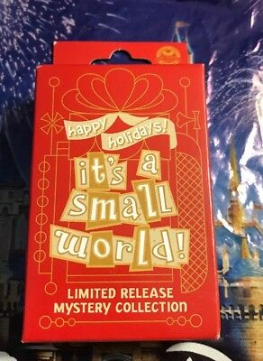 Disneyland It's A Small World Holiday 2018 2-Pin Mystery Box Limited Release New