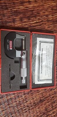 Swiss Precision Instruments outside micrometer 0-1 0.0001