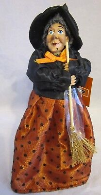 """Holiday Home Kitchen Witch 10"""" High To Protect Your Stews Roasts & Cooking"""