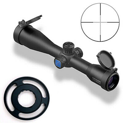 Tactical SFP 10X44SF Large Side Wheel Mil Dot Shock Proof Hunting Rifle Scope