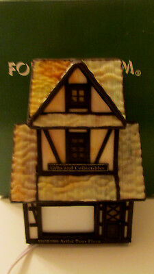 "Forma Vitrum Stained Glass ""Tour Piece"" Gifts and Collectibles Shop with Box"
