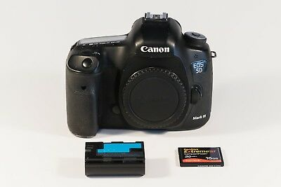 Canon EOS 5D Mark III 22.3MP Digital SLR Full-frame Camera - Black (Body Only)
