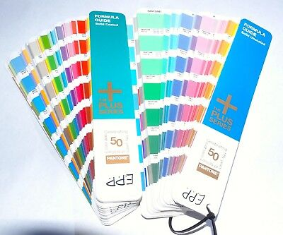 Pantoe Plus Series Formula Guide Swatch Books Coated & Uncoated