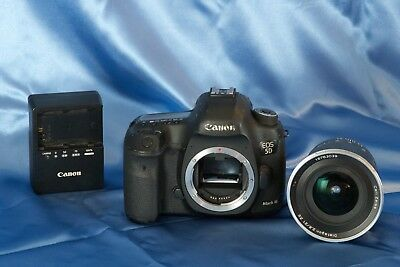Canon EOS 5D Mark III 22.3MP Digital SLR Camera , Zeiss 21mm f 2.8