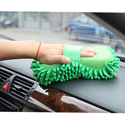 Hot Sale Microfiber Chenille Washing Brush Sponge Pad Auto Car Cleaning Tool