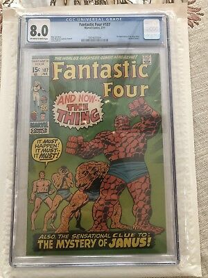 FANTASTIC FOUR #107 (2nd Appearance Of Annihilus) CGC 8.0