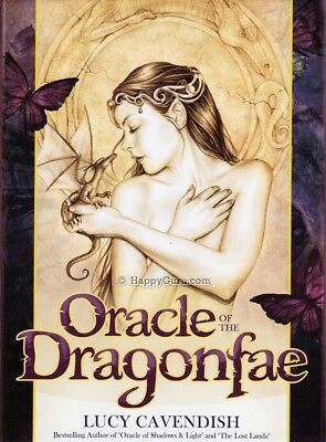 """""""Oracle Of The Dragonfae"""" By Lucy Cavendish (Oracle Cards)"""