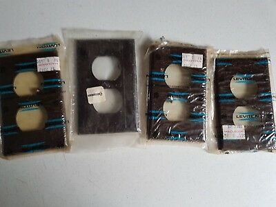 Vintage Lot of Unopened Outlet Covers Electrical Leviton SA