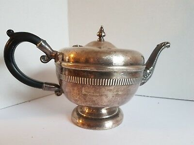 Vintage Copper Tea Pot Viking Plate EP Copper Lead Mounts Made in Canada