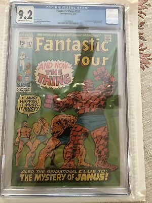 FANTASTIC FOUR #107 CGC 9.2 (2nd Appearance Of Annihilus)