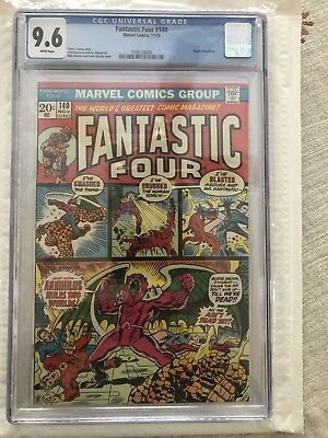 Fantastic Four #140 CGC 9.6 (1973) Origin of Annihilus