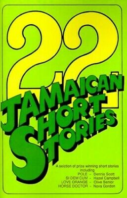 22 Jamaican Short Stories by Robinson Paperback Book The Cheap Fast Free Post