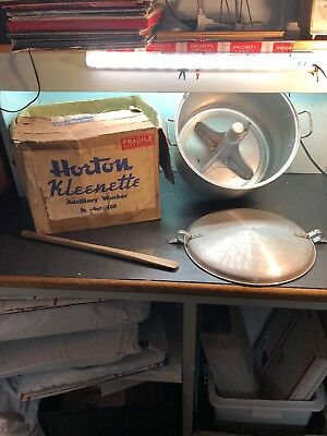 Horton Kleenette Auxiliary Washer Model 110/ Vintage Washer Machine/washer Parts