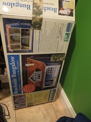 Beachside Bungalow model house, 'Real Good Toys' unassembled, complete in box