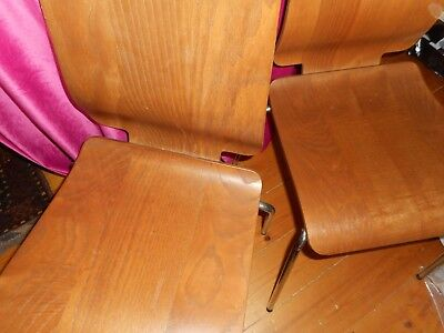 Stylish vintage pair of IKEA chairs