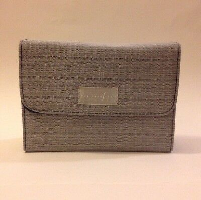 Continental Airlines Business First Travel Amenity Kit Bag flip