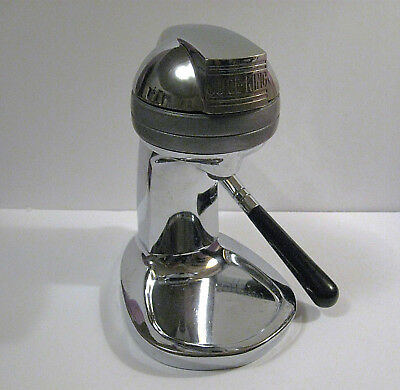 50's Juice King JK-30 Deco Chrome Kitchen Citrus Fruit Juicer
