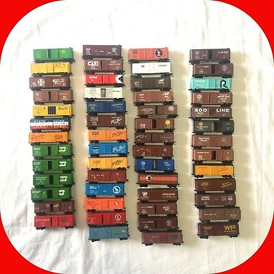 40' Box Cars N Scale - MTL/Knuckle Couplers - Variation Lot w Combined Shipping