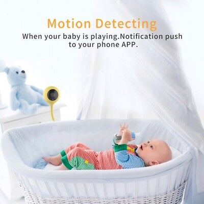 SDETER Wireless Wifi Camera Baby Monitor Nanny 2 Way Audio Cloud IR Night Vision